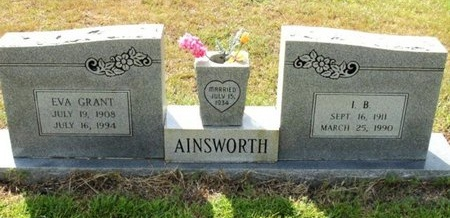 AINSWORTH, EVA - Caldwell County, Louisiana | EVA AINSWORTH - Louisiana Gravestone Photos