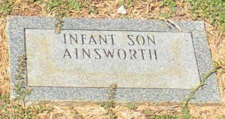 AINSWORTH, INFANT SON - Caldwell County, Louisiana   INFANT SON AINSWORTH - Louisiana Gravestone Photos