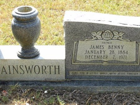 AINSWORTH, JAMES BENNY - Caldwell County, Louisiana | JAMES BENNY AINSWORTH - Louisiana Gravestone Photos