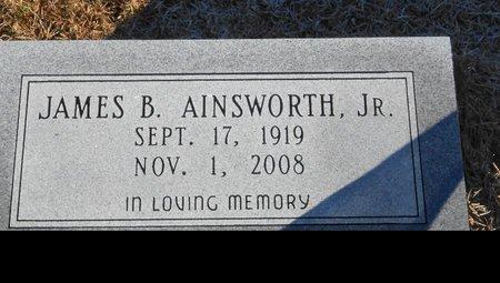 AINSWORTH, JAMES B, JR - Caldwell County, Louisiana | JAMES B, JR AINSWORTH - Louisiana Gravestone Photos
