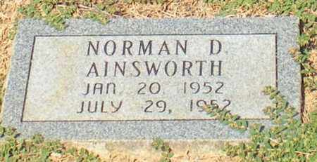 AINSWORTH, NORMAN D - Caldwell County, Louisiana | NORMAN D AINSWORTH - Louisiana Gravestone Photos