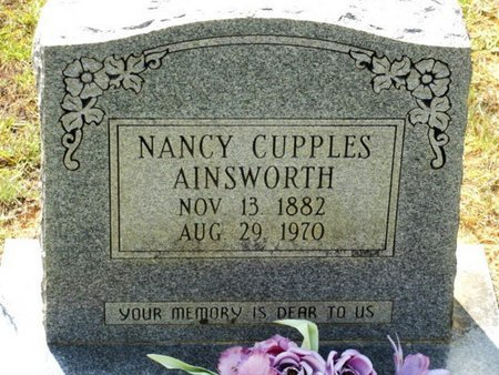 AINSWORTH, NANCY - Caldwell County, Louisiana | NANCY AINSWORTH - Louisiana Gravestone Photos
