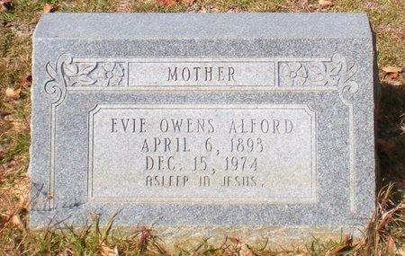 OWENS ALFORD, EVIE - Caldwell County, Louisiana | EVIE OWENS ALFORD - Louisiana Gravestone Photos