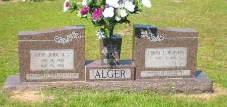 ALGER, AUDIE JOHN - Caldwell County, Louisiana | AUDIE JOHN ALGER - Louisiana Gravestone Photos