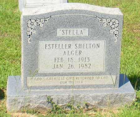 ALGER, ESTELLER - Caldwell County, Louisiana | ESTELLER ALGER - Louisiana Gravestone Photos