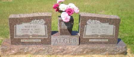 ALGER, MARVIN - Caldwell County, Louisiana   MARVIN ALGER - Louisiana Gravestone Photos