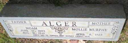 ALGER, NOAH - Caldwell County, Louisiana | NOAH ALGER - Louisiana Gravestone Photos