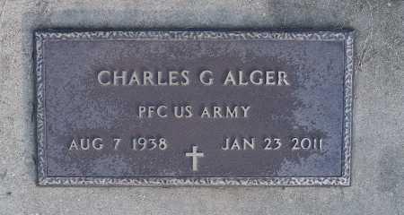 ALGER, CHARLES G  (VETERAN) - Caldwell County, Louisiana | CHARLES G  (VETERAN) ALGER - Louisiana Gravestone Photos