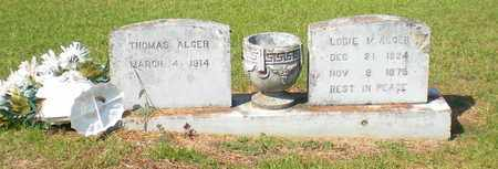 ALGER, LODIE MARIE - Caldwell County, Louisiana | LODIE MARIE ALGER - Louisiana Gravestone Photos