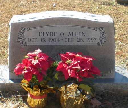 ALLEN, CLYDE O - Caldwell County, Louisiana | CLYDE O ALLEN - Louisiana Gravestone Photos