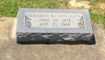 ALLEN, ELIZABETH - Caldwell County, Louisiana | ELIZABETH ALLEN - Louisiana Gravestone Photos