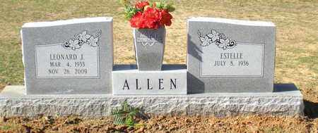 ALLEN, ESTELLE - Caldwell County, Louisiana | ESTELLE ALLEN - Louisiana Gravestone Photos