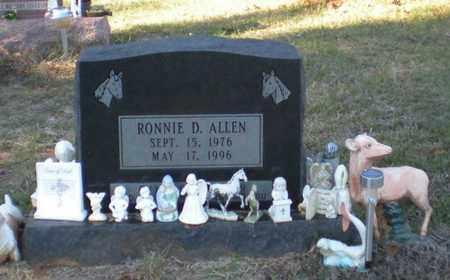 ALLEN, RONNIE D - Caldwell County, Louisiana   RONNIE D ALLEN - Louisiana Gravestone Photos