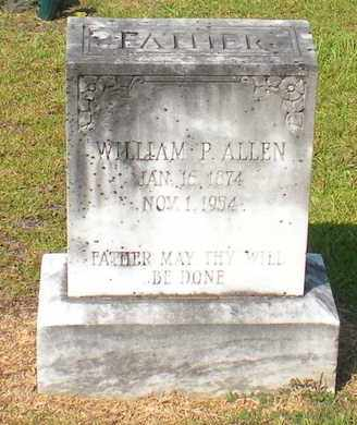 ALLEN, WILLIAM P - Caldwell County, Louisiana | WILLIAM P ALLEN - Louisiana Gravestone Photos