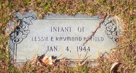 ARNOLD, INFANT - Caldwell County, Louisiana | INFANT ARNOLD - Louisiana Gravestone Photos