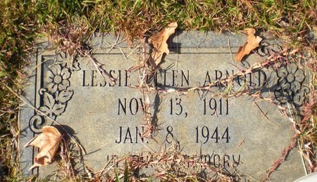 ARNOLD, LESSIE ELLEN - Caldwell County, Louisiana | LESSIE ELLEN ARNOLD - Louisiana Gravestone Photos
