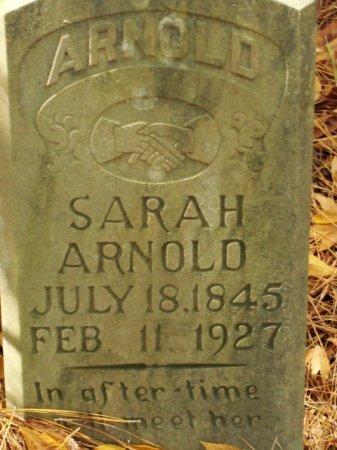 ARNOLD, SARAH - Caldwell County, Louisiana | SARAH ARNOLD - Louisiana Gravestone Photos