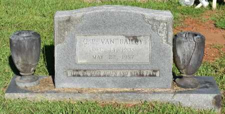 "BAILEY, C P ""VAN"" - Caldwell County, Louisiana | C P ""VAN"" BAILEY - Louisiana Gravestone Photos"