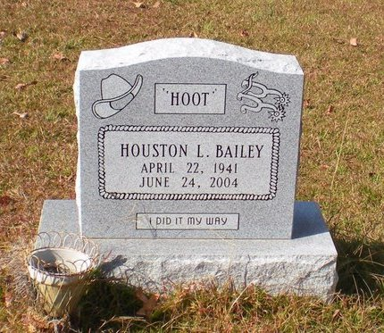 BAILEY, HOUSTON L - Caldwell County, Louisiana | HOUSTON L BAILEY - Louisiana Gravestone Photos