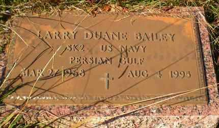 BAILEY, LARRY DUANE (VETERAN PG) - Caldwell County, Louisiana | LARRY DUANE (VETERAN PG) BAILEY - Louisiana Gravestone Photos