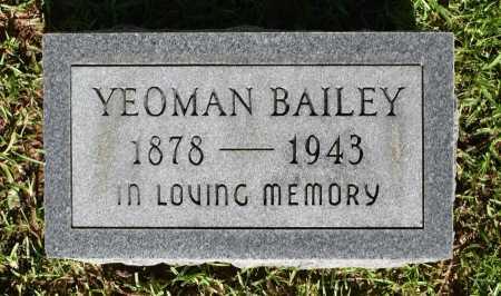 BAILEY, YEOMAN - Caldwell County, Louisiana | YEOMAN BAILEY - Louisiana Gravestone Photos