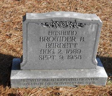 BARNETT, BROWDER B - Caldwell County, Louisiana   BROWDER B BARNETT - Louisiana Gravestone Photos