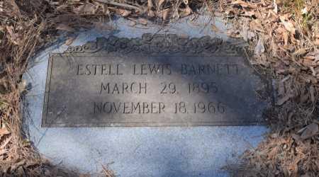 BARNETT, ESTELL LEWIS - Caldwell County, Louisiana   ESTELL LEWIS BARNETT - Louisiana Gravestone Photos