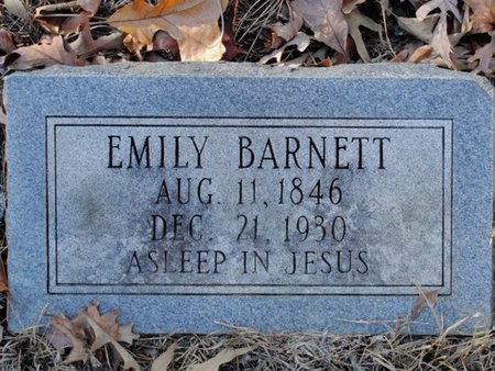 BARNETT, EMILY - Caldwell County, Louisiana   EMILY BARNETT - Louisiana Gravestone Photos