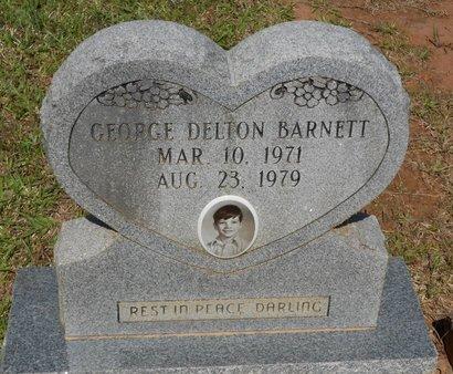 BARNETT, GEORGE DELTON - Caldwell County, Louisiana   GEORGE DELTON BARNETT - Louisiana Gravestone Photos