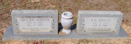 BARNETTE, CECIL RAY - Caldwell County, Louisiana | CECIL RAY BARNETTE - Louisiana Gravestone Photos