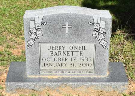 BARNETTE, JERRY O'NEIL - Caldwell County, Louisiana | JERRY O'NEIL BARNETTE - Louisiana Gravestone Photos