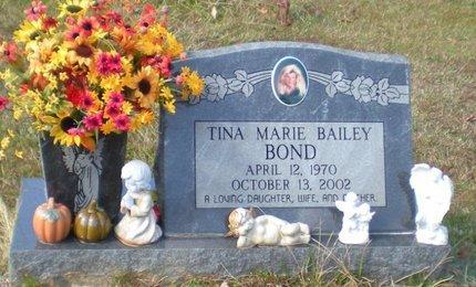 BAILEY BOND, TINA MARIE - Caldwell County, Louisiana | TINA MARIE BAILEY BOND - Louisiana Gravestone Photos