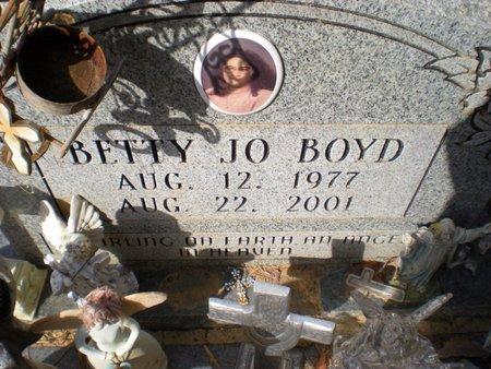 BOYD, BETTY JO - Caldwell County, Louisiana   BETTY JO BOYD - Louisiana Gravestone Photos