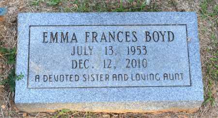BOYD, EMMA FRANCES - Caldwell County, Louisiana   EMMA FRANCES BOYD - Louisiana Gravestone Photos