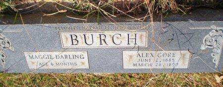 BURCH, MAGGIE DARLING - Caldwell County, Louisiana | MAGGIE DARLING BURCH - Louisiana Gravestone Photos