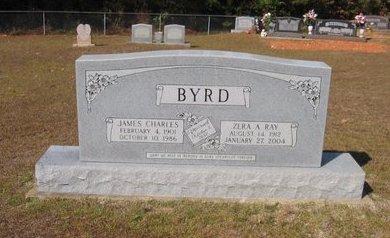 RAY BYRD, ZERA A. - Caldwell County, Louisiana | ZERA A. RAY BYRD - Louisiana Gravestone Photos