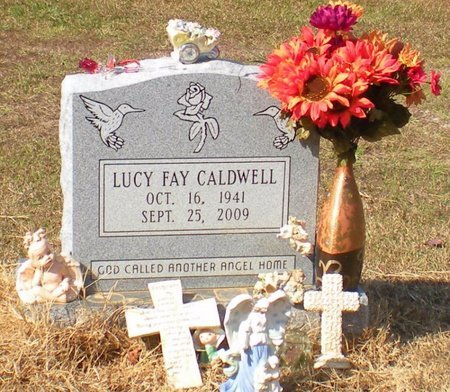 PARKER CALDWELL, LUCY FAY - Caldwell County, Louisiana   LUCY FAY PARKER CALDWELL - Louisiana Gravestone Photos