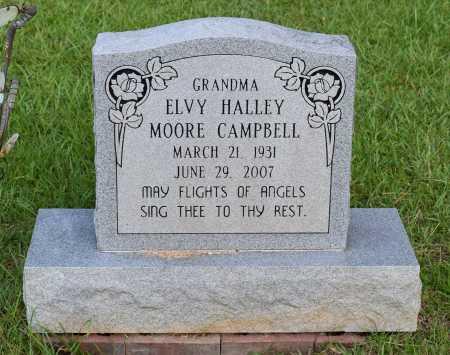 MOORE CAMPBELL, ELVY HALLEY - Caldwell County, Louisiana   ELVY HALLEY MOORE CAMPBELL - Louisiana Gravestone Photos