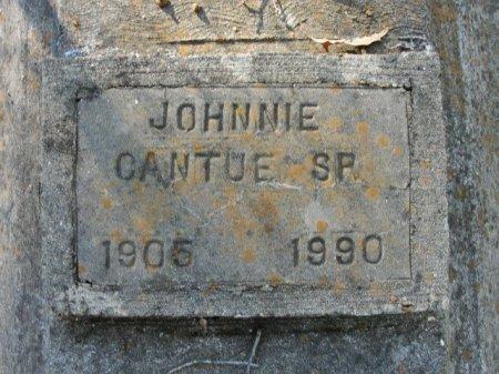 CANTUE, JOHNNIE, SR - Caldwell County, Louisiana | JOHNNIE, SR CANTUE - Louisiana Gravestone Photos
