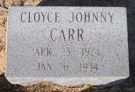 CARR, CLOYCE JOHNNY - Caldwell County, Louisiana | CLOYCE JOHNNY CARR - Louisiana Gravestone Photos