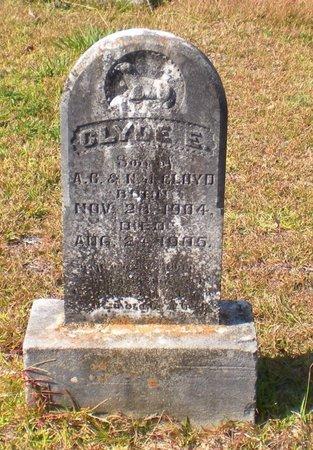 CLOYD, CLYDE E - Caldwell County, Louisiana   CLYDE E CLOYD - Louisiana Gravestone Photos