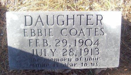 COATES, EBBIE - Caldwell County, Louisiana | EBBIE COATES - Louisiana Gravestone Photos
