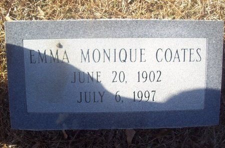 COATES, EMMA MONIQUE - Caldwell County, Louisiana | EMMA MONIQUE COATES - Louisiana Gravestone Photos