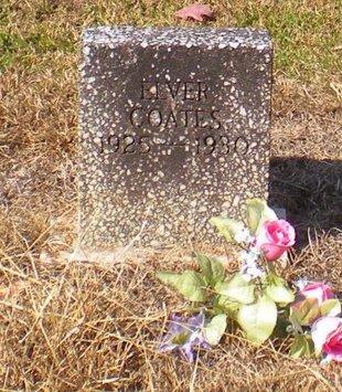 COATES, ELVER - Caldwell County, Louisiana | ELVER COATES - Louisiana Gravestone Photos