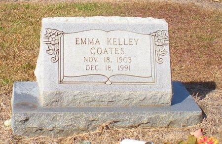 KELLY COATES, EMMA - Caldwell County, Louisiana | EMMA KELLY COATES - Louisiana Gravestone Photos