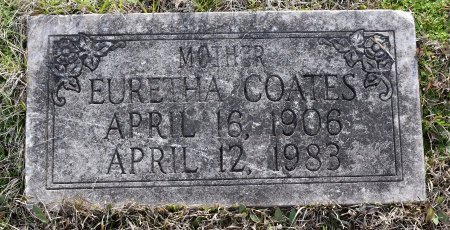COATES, EURETHA - Caldwell County, Louisiana | EURETHA COATES - Louisiana Gravestone Photos