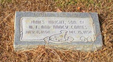 COATES, JAMES WRIGHT - Caldwell County, Louisiana | JAMES WRIGHT COATES - Louisiana Gravestone Photos