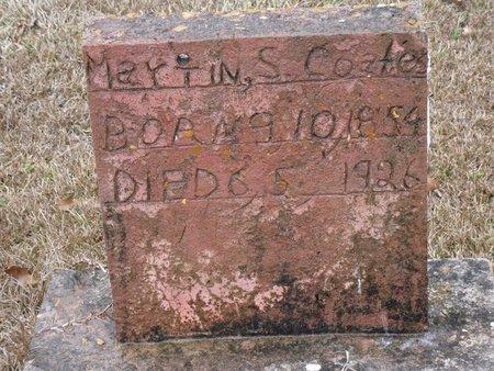COATES, MARTIN S - Caldwell County, Louisiana | MARTIN S COATES - Louisiana Gravestone Photos
