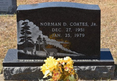 COATES, NORMAN D, JR - Caldwell County, Louisiana | NORMAN D, JR COATES - Louisiana Gravestone Photos