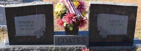 COATES, NORMAN DYKES, SR - Caldwell County, Louisiana   NORMAN DYKES, SR COATES - Louisiana Gravestone Photos